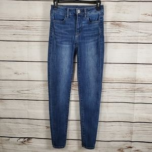 American Eagle | High Rise Stretch Jeggings Jeans